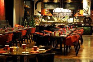 Restaurant, Manger, Quilles, Préparer Votre Travail